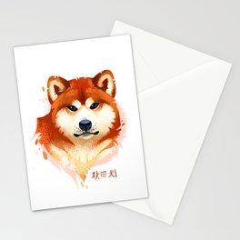 Akita Stylistic Portrait Stationery Cards