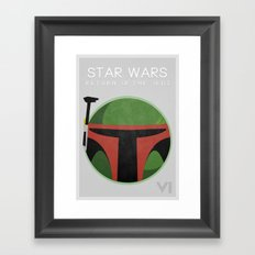Star Wars VI: Return Of The Jedi Framed Art Print
