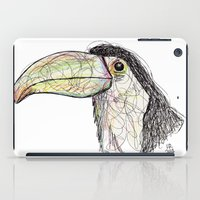 toucan iPad Cases featuring Toucan by Ursula Rodgers