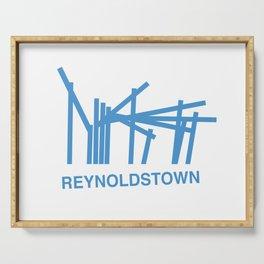 Reynoldstown Atlanta Logo Serving Tray