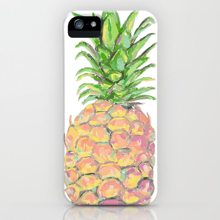 Brite Pineapple iPhone Case