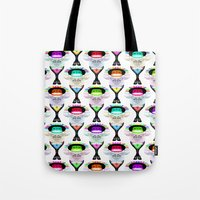 rap Tote Bags featuring Rap Music by Amy Staton