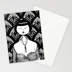 ask him if the new kisses are divine Stationery Cards