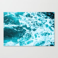 Deep Turquoise Sea Canvas Print