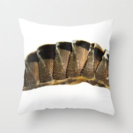 lines and blemishes Throw Pillow