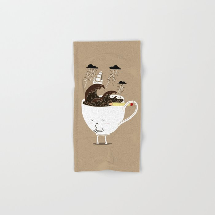 Brainstorming Coffee Hand & Bath Towel