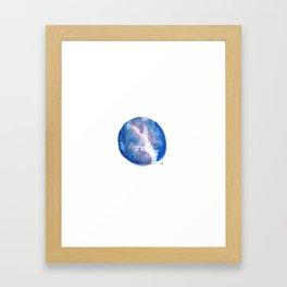 Galaxy Stars Framed Art Print
