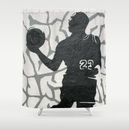 Number 23 Shower Curtain