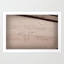 The Revolution Art Print