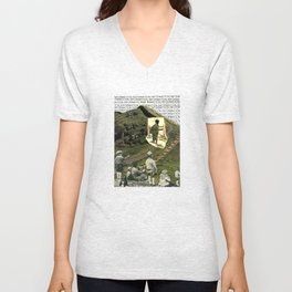 Are You On The Fence About Useless Information ? Unisex V-Neck