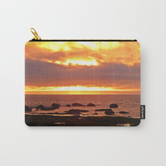 Stunning Orange Sunset Carry-All Pouch
