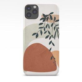 Soft Shapes I iPhone Case