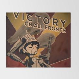 Propaganda Series 4 Throw Blanket
