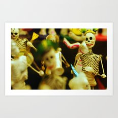 Day of the Dead Party Art Print