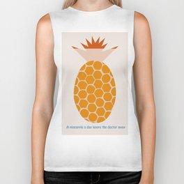 A Pineapple A Day Keeps The Doctor Away Biker Tank
