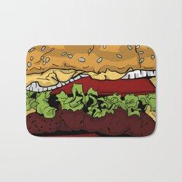 Cheeseburger Bath Mat