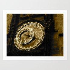 Tick, Tick, Tick Art Print