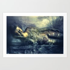 deep balance Art Print