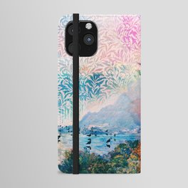 Flying and swimming iPhone Wallet Case
