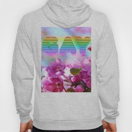 gay flowers Hoody