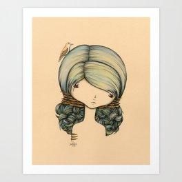 Anne n Belle Art Print
