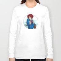 akira Long Sleeve T-shirts featuring Ujigawa Akira by anywayimnikki