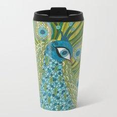 The Peacock Metal Travel Mug