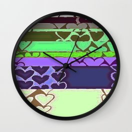 Heart 9 Wall Clock