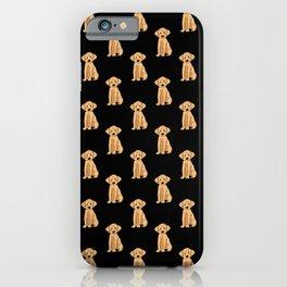 Doodle Black Pattern iPhone Case