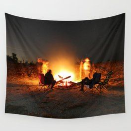 Campfire Wall Tapestry