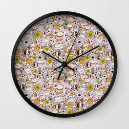 Cute Guinea Pigs Wall Clock