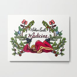 Mother Earth Medicine Metal Print