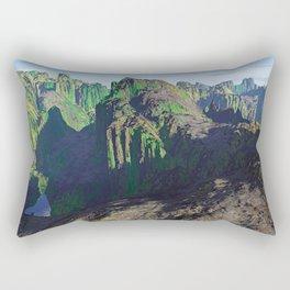 THE SHADOW OF THE BEAR Rectangular Pillow