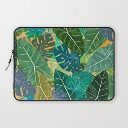 Elephant Ears and Monstera Laptop Sleeve