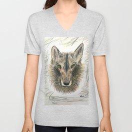 The Felix wolf Unisex V-Neck