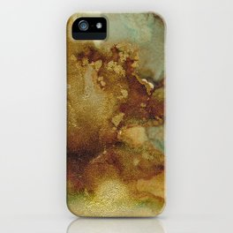 Alcohol Ink 'The Storybook Series: The Little Match Girl' iPhone Case