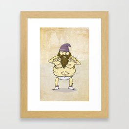 Same Shit, Different Day, Still F**king Awesome Framed Art Print