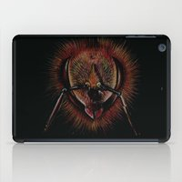 bee iPad Cases featuring bee  by hueroth