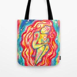 Venusian Star Girl Tote Bag