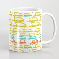 cars Mugs featuring cars by mummysam