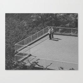 Sightseeing terrasse Canvas Print