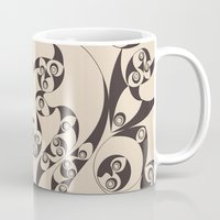 skyrim Mugs featuring Celtic Loops Natural by Astrablink7