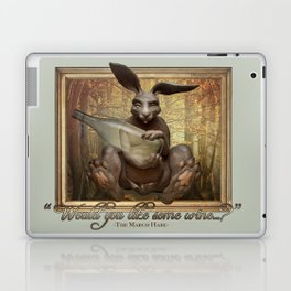 The March Hare Laptop & iPad Skin