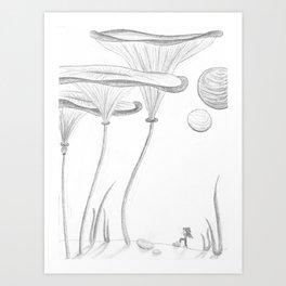 Mighty Explorer Art Print