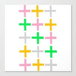 Fifteen Crosses Canvas Print