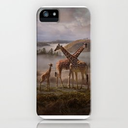 The Edge of the Earth iPhone Case