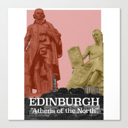 Edinburgh - Athens of the North Canvas Print