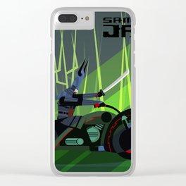 Samurai Jack Bike Clear iPhone Case