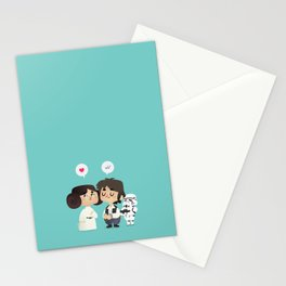 I love you, i know Stationery Cards