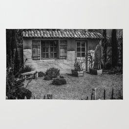 Le Jardin de Vincent Black and White Rug